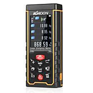 Kkmoon handheld laser rangefinder alta precisão cor handheld infravermelho rangefinder laser régua