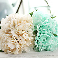 10inch Large Size 5 Heads Silk Polyester Peonies Tabletop Flower Artificial Flowers
