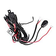 3m uzunluğunda kabloyu uzatın 1-2 ışıklı led bar için (1 set) açma / kapama anahtarlı 1-2 röle seti