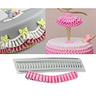 1 Cake Moulds Til Småkake Sjokolade For kjøkkenutstyr Til Sjokolade Til Kake Til Småkaker Silikon Silikon GummiNon-Stick baking Tool