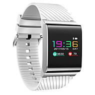 Smart armbåndVandafvisende Lang Standby Brændte kalorier Skridttællere Træningslog Sport Pulsmåler Touch Screen Blodtryksmåling