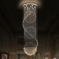 Lustres de tecto de cristal moderno pendente de interiores luz suspensa luzes lâmpada luminárias