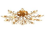 lightmyself 15 valot antiikki messinki moderni kristalli kattovalaisin sisätiloissa palaa olohuoneeseen makuuhuone ruokailuhuone