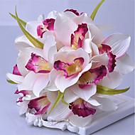 1 Gałąź Plastikowy Roses Bukiety na stół Sztuczne Kwiaty