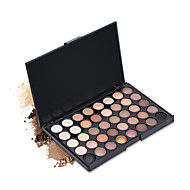 New 40 Colors Eyeshadow Palette Dry Matte Shimmer Mineral Eyeshadow Palette Daily Makeup Halloween Makeup Party Makeup Fairy Makeup Cateye Makeup