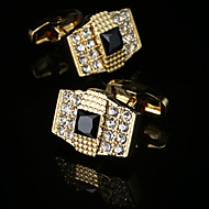 New Luxury Shirt Cufflinks for Men's Brand Cuff Buttons Gold Cuff links Gemelos High Quality Wedding Abotoaduras Jewelry