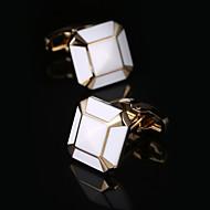 New Luxury Shirt Cufflinks Mens Brand Cuff Buttons Wedding Gifts Cuff link Gold Gemelos Abotoaduras Jewelry Twins Cuffs