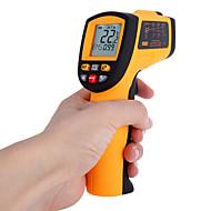 Non-Contact Laser infrapunalämpömittarin -50-700 ℃ w Hälytys MAX MIN AVG DIF