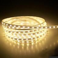 4m 220v higt בהיר הוביל רצועת אור האורות בגן 5050 240smd שלושה קריסטל עמיד למים אור בר גמיש עם תקע החשמל eu