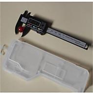 Medidor de medidor de calibre de calibre de vernier digital de 100 mm régua de medição eletrônica precisa