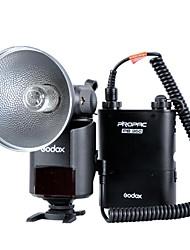 godox witstro ad360kit (360W / s, gn85 barebulb vaku + pb960 lítium akkumulátort)