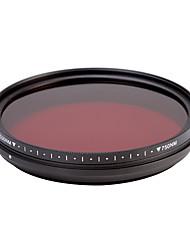 fotga® all-in-one nastavitelný 530nm-750 nm infračervený ir průchod x-ray filtr objektivu 58mm