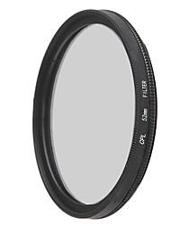 emoblitz 52mm CPL kruhový polarizační filtr objektivu