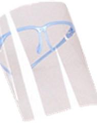 céu azul da cor, material pc, acessórios de proteção, céu azul # i00cm, máscara protetora, um pacote de dois