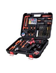 lítio hardware ferramentas da broca elétrica caixa de ferramentas