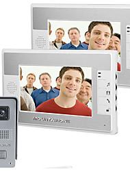 700 TV Line 92 CMOS zvonek System Drátový Videotelefon multifamily