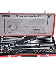 Conjunto de ferramentas Stanley Conjunto de 38 peças abrangente