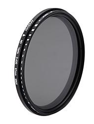 Aoer 67mm nd fader neutrální hustota nastavitelná nd2 na nd400 proměnný filtr pro kanon nikon dslr fotoaparát