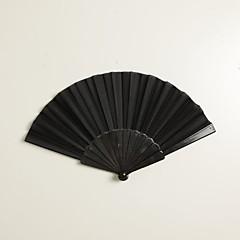 """Mătase Ventilatoare și umbrele de soare-# Piece / Set Ventilatoare de Mână Temă Grădină Temă Clasică Negru 16 1/2""""x9""""x 3/4""""(42cmx23cmx1cm)"""