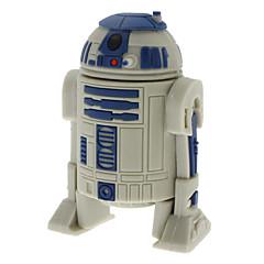 8GB R2-D2 robotti nopea USB 2.0 Flash muistitikusta harmaa