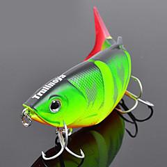"""1 Stück Harte Fischköder kleiner Fisch Angelköder Harte Fischköder kleiner Fisch Grün Orange Gelb Blau g/Unze,80 mm/3-1/4"""" Zoll,Fester"""