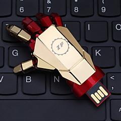 zp 32gb hånd mønster metall stil usb flash-minnepinne