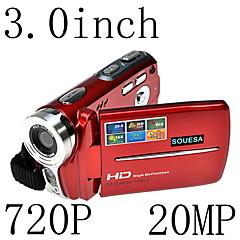 HD 720p 20mp 16x зум цифровой видеокамеры DV видеокамер красный