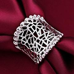 Naisten Tyylikkäät sormukset Classic Personoitu pukukorut Sterling-hopea Korut Käyttötarkoitus Häät Party Päivittäin Kausaliteetti