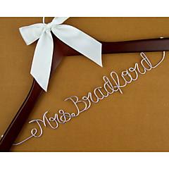 כלה חתן שושבינה שושבין חתן נערת פרחים זוג הורים עץ Aluminum Alloy מתנה יצירתית חתונה