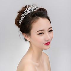 kvinners tiaraer hår smykker for bryllup