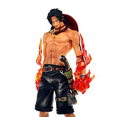 애니메이션 액션 피규어 에서 영감을 받다 One Piece Ace PVC 20 CM 모델 완구 인형 장난감