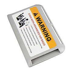 caixa de armazenamento cartão de visita titular titular do cartão de cartão de estacionamento temporário de alta velocidade cartões-sol