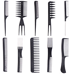Børste og kam Kan brukes på vått og tørt hår Andre Antistatisk Svart Fade Normal Gold Hairpin