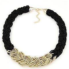 Žene Choker oglice Lančići Circle Shape Jewelry Smola Najlon Legura Festival/Praznik Europska Nakit sa stilom kostim nakit Jewelry Za