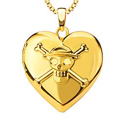 Anhänger Metall Heart Shape oro 50
