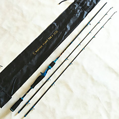 Vara de Pesca de Lançamento Arame de Ferro / Alúminio / EVA / Carbono 2.1 M Isco de Arremesso / Pesca de Água Doce / Pesca Geral Haste