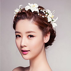 seaside vakker rose blomst kranser pannebånd for dame bryllupsfesten ferie hår smykker