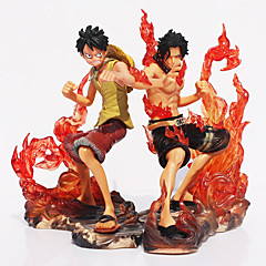 Anime Toimintahahmot Innoittamana One Piece Cosplay PVC 11 CM Malli lelut Doll Toy