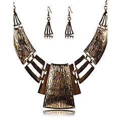 Žene Komplet nakita Viseće naušnice Izjava Ogrlice Sexy Festival/Praznik Europska Vintage Glina Legura Jewelry Ogrlice Füllbevalók Za