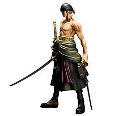 애니메이션 액션 피규어 에서 영감을 받다 One Piece Roronoa Zoro PVC 25 CM 모델 완구 인형 장난감