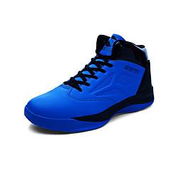 נעלי ספורט נעלי כדורסל נעלי ריצה בגדי ריקוד גברים נגד החלקה Anti-Shake נושם עמיד בפני שחיקה בבית הצגה אימון ריצה סוליה גבוהה רשת נושמת