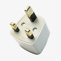 viagens adaptador universal nos au ue uk plugue adaptador de energia AC parede de viagens