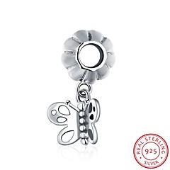 die europäischen und amerikanischen populären Mode-Schmuck 925 Sterling Silber Anhänger hängendem Armband - Schmetterlingsform Zubehör