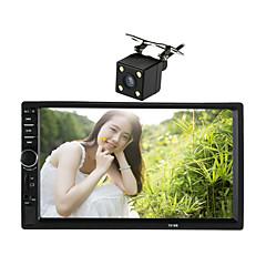 7-дюймовый 2 дин сенсорный HD автомобиль mp5 mp3 mp4 плеер стерео Bluetooth FM-радио USB с камерой заднего вида для Nissan Тойота Univeral