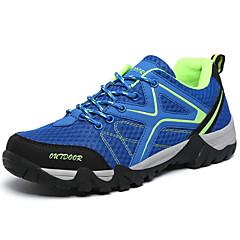 LEIBINDI נעלי ריצה נעלי ספורט נעלי טיולי הרים לגברים נגד החלקה Anti-Shake חסין בפני שחיקה טבע סוליה נמוכה רשת נושמת EVA מחוררריצה ספורט