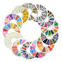 13 Nail Art Decoration tekojalokivi Pearls meikki Kosmeettiset Nail Art Design