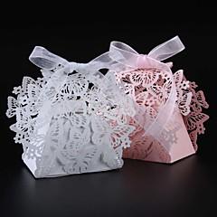 50 Adet/Set Favor Tutucu-Yaratıcı İnci Kağıdı Hediye Kutuları Kişiselleştirilmemiş