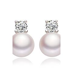 Boucles d'oreille goujon Perle imitée bijoux de fantaisie Imitation de perle Bijoux Pour Mariage Soirée Quotidien Décontracté
