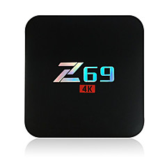 Z69 Amlogic S905X Android TV Box,RAM 2GB ROM 16GB Dual Core 802.11g WiFi בלוטות' 4.0