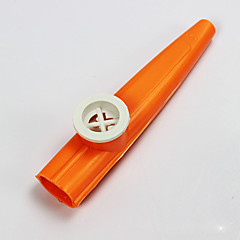 plast červená / modrá / fialová / zelená / žlutá kazoo pro děti hudebních nástrojů hračka